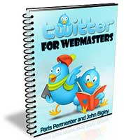 twitter for webmasters ebook
